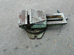 Тиски - Тиски станочные поворотные 200мм СССР, 0
