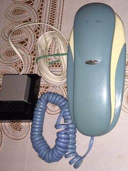 Проводные телефоны - Телефон стационарный Texet, 0