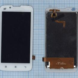 Запчасти и аксессуары для планшетов - Модуль (матрица + тачскрин) для Lenovo A328 белый, 0