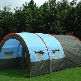 Палатки - Палатка кемпинговая 4-местная, 0