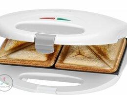 Сэндвичницы и приборы для выпечки - Сэндвичница CLATRONIC ST 3477 белый, 0