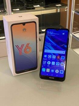 Мобильные телефоны - Как Новый huawei Y6 (2019) полный комплект, 0