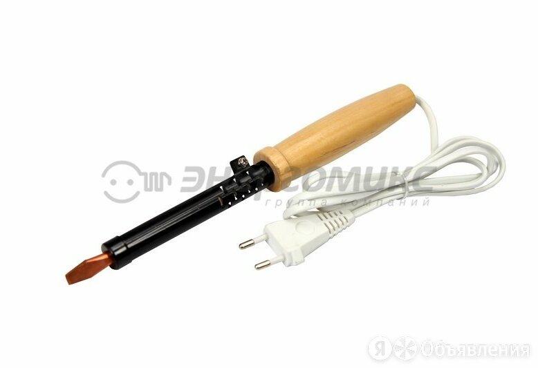 Паяльник ПД 100Вт/220В деревянная ручка ЭПСН, 12-0291 по цене 300₽ - Электрические паяльники, фото 0