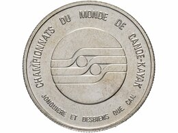 """Другое - Канадский торговый доллар 1979 """"Чемпионат мира по, 0"""