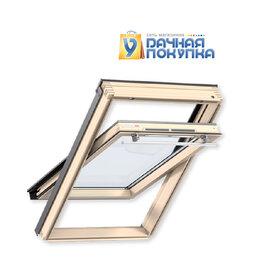 Окна - Окно мансардное Velux OPTIMA Стандарт 55x78 ручка сверху GZR CR02, 0