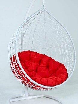 Подвесные кресла - Подвесное кресло кокон качели из ротанга, 0