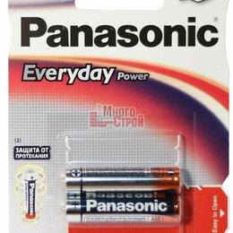 Батарейки - Батарейка Тип «ААА» Panasonic LR 03 Everyday 2шт/бл, 0