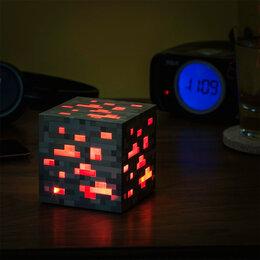 Ночники и декоративные светильники - Светильник Куб Think Geek Minecraft Red Ore, 0