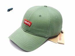 Головные уборы - Бейсболка кепка Levis (зеленый), 0
