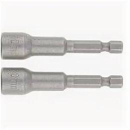 Насадки для многофункционального инструмента - Насадка шест.магн. 10*65 Matrix 2 шт, 0