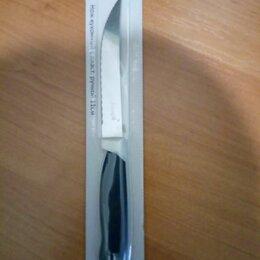 Ножи кухонные - Нож кухонный с зубчиками (новый), 0