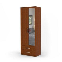 Стеллажи и этажерки - Шкаф двухдверный Дуэт 60х60 Вишня Академия, 0