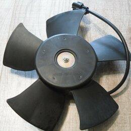 Отопление и кондиционирование  - 96536520 Вентилятор охлаждения радиатора General Motors Шевроле Авео Калос Дэу, 0