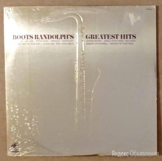 Boots Randolph - 1974 Boots Randolph's Greatest Hits по цене 2000₽ - Виниловые пластинки, фото 0