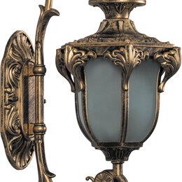 Уличное освещение - Светильник садово-парковый, 60W 230V E27 IP44 черное золото, PL4041, 0