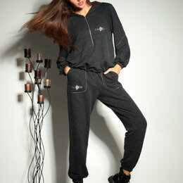 Диваны и кушетки - Комплект 1009 ТАиЕР серый меланж Модель: 1009, 0