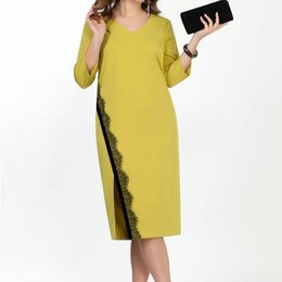 Платья - Платье 2066 TEZA желтое Модель: 2066, 0