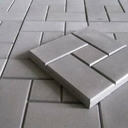 Тротуарная плитка, бордюр - Плитка тротуарная 300х300х30мм., 0