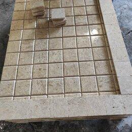 Облицовочный камень - Травертин Light Cruch Плитка 300х400х10 2 слоя, 0