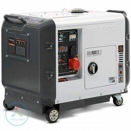 Электрогенераторы - Дизельный генератор Daewoo DDAE 9000SSE-3 (DUAL…, 0