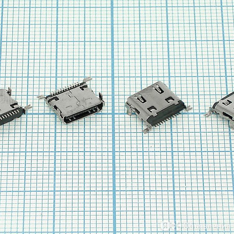 Разъем Micro USB (12 pin) для планшета тип USB 39 (RS-MI032) по цене 270₽ - Запчасти и аксессуары для планшетов, фото 0