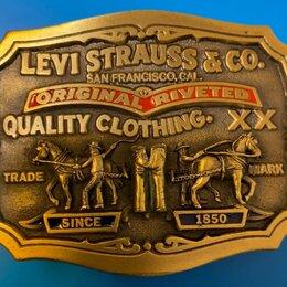 Ремни и пояса - Редкая пряжка LEVI'S., 0