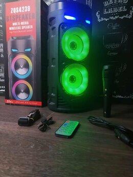 Портативная акустика - Портативная колонка с микрофоном 4239, 0