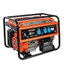 Электрогенераторы - Генератор бензиновый PATRIOT Max Power SRGE 6500E, 0