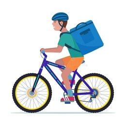 Курьер - Курьер на велосипеде, 0