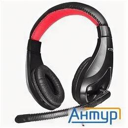 Дисплеи и тачскрины - Oklick Hs-l100 черный/красный 2м мониторы оголовье, 0