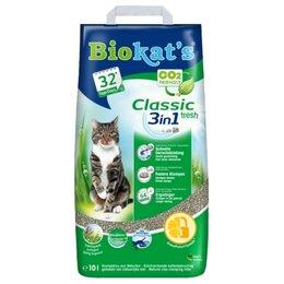 Наполнители для туалетов - Biokat's Classic Fresh 3in1 20 л Наполнитель…, 0