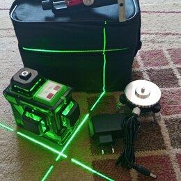 Измерительные инструменты и приборы - Нивелир 3D 12 лучей зеленый, 0