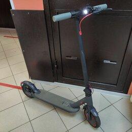 Мото- и электротранспорт - Электросамокат Xiaomi Mi Electric Scooter 1S, 0