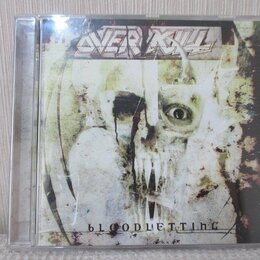 Музыкальные CD и аудиокассеты - cd  Overkill – Bloodletting, 0