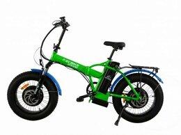Мототехника и электровелосипеды - Электровелосипед Elbike TAIGA 3 Twix зеленый, 0