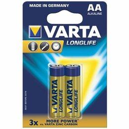 Батарейки - Батарейка VARTA LONGLIFE lr6 [тип: AA; к-т: 2шт/уп.] (1шт.), 0