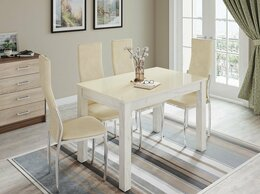 Столы и столики - 🚚 стол обеденный нераскладной Норман 1000 на…, 0