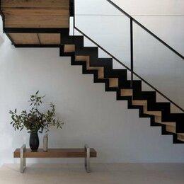 Лестницы и элементы лестниц - Лестница на второй этаж металлокаркас, 0