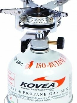 Туристические горелки и плитки - Горелка газовая Kovea Hiker stove KB-0408, 0