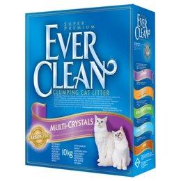 Наполнители для туалетов - Ever Clean Multi Crystals Blend 10 кг, 0