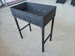 Грили, мангалы, коптильни - Мангал разборный (60 х 35 см), сталь 3мм, 0