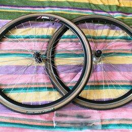 Обода и велосипедные колёса в сборе - Колеса для шоссера, ситибайка, комьюнитера 700с*28, 0