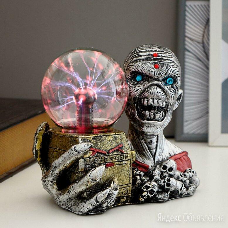 """Плазменный шар """"Мумия с ящиком"""" 20х11,5х17 см     (арт: 5089629) по цене 1450₽ - Ночники и декоративные светильники, фото 0"""