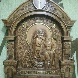 Иконы - Резная икона Казанской Божией Матери, 0