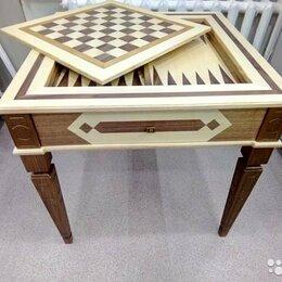 Настольные игры - Ломберный столик шахматы нарды Моренго, 0