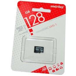 Карты памяти - 128GB SmartBuy MicroSDXC UHS-I U1 class 10 без…, 0