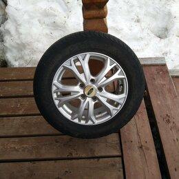 Шины, диски и комплектующие - Колёса 15 R в сборе лето комплект .+ 20 хромированных гаяк., 0