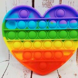 Игрушки-антистресс - Pop it Антистресс сердце, 0
