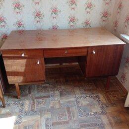 Компьютерные и письменные столы - Советский письменный стол двух сторонний, 0