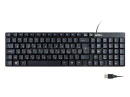 Мыши - Клавиатура Perfeo проводная DOMINO USB (черный), 0